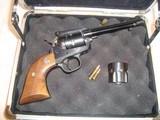 Ruger New Model Single Six revolver, 22LR/22 magnum.