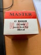 MASTER 41 MAGNUM 210 GR - 1 of 2