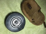 Russian Ppsh41 drum magazine with pouch