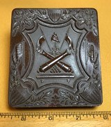 Thermoplastic Union Case with image of CW Union Soldier - 1 of 3