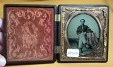 Thermoplastic Union Case with image of CW Union Soldier - 3 of 3