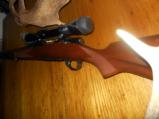 Winchester 264 Mag Bolt Pre-64 Action very nice. New Nikon Scope