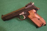 Beautiful SIG P210 Target Heavy Frame, 9mm
