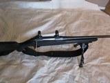 "Tikka T3 Blued, Black synthetic stock, 30-06. Leupold bases and 30mm rings, Black Hawk 9-13"" Bi pod and padded sling."
