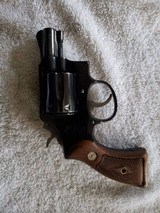 1961 Model 12 Smith & Wesson Airweight with Original Holster