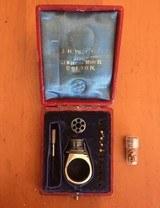"""Rare and Unique Cased """"Femme Fatale"""" Ring Gun 2mm"""