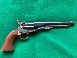 1860 Colt Army 2nd Gen Model F-1203 .44 Caliber Unfired with Fluted Cylinder