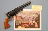 """A Tribute to the Blue"" Colt 3rd Model Dragoon, American Historical Foundation Limited Edition"