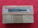 Peters 8mm Ammo