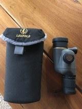 Leupold spotting scope 10-20x40mm