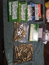 243 win Brass and Ammo