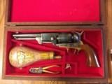 Replica Arms - Uberti 1848 Cased 2nd Model Commemorative Dragoon .44 Caliber Percussion Black Powder Revolver