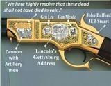 America Remember 1860 Henry 44-40 Rifle Pickett's Charge Gettysburg Commemorative Engraved Civil War Tribute