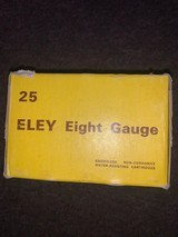 Eley 8 guage 31/4in shotgun shells BB load - 4 of 4