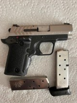 Springfield 911 semiautomatic pistol, 380 ACP, with Factory Green Viridian Laser Grip - 1 of 6