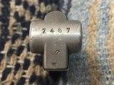 Original WW2 Nazi Luger Magazine 1937-1940 Straight Eagle 63 serial# 7457o