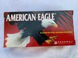 40 S&W Ammo 50 round boxes 165 grain of American Eagle