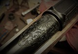 Professional Hand-Engraving on Firearms & Custom
