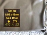 5.56x45 New Military Surplus Ammunition -Ball M1A2 headstamp 82/12 in 300 round battle packs - This IS NOT 223 Ammo, firearm must be marked 5.56x45 - 3 of 5