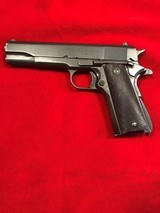 Ithaca 1911A1 Military 45 ACP - US Property marked- Not a Colt - 1 of 8