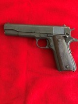 Remington Rand M1911-A1 US Military 45 ACP Pistol - Manufactured 1945 - Not Colt