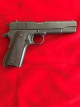 Remington Rand M1911-A1 US Military 45 ACP Pistol - Manufactured 1945 - Not Colt - 2 of 8