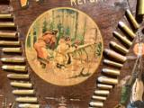 WINCHESTER MODEL 1890 SINGLE-W CARTRIDGE BOARD BULLET BOARD ORIGINAL SINGLE W - 7 of 15