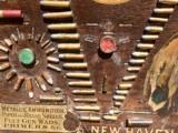 WINCHESTER MODEL 1890 SINGLE-W CARTRIDGE BOARD BULLET BOARD ORIGINAL SINGLE W - 10 of 15
