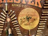 WINCHESTER MODEL 1890 SINGLE-W CARTRIDGE BOARD BULLET BOARD ORIGINAL SINGLE W - 8 of 15
