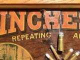 WINCHESTER MODEL 1890 SINGLE-W CARTRIDGE BOARD BULLET BOARD ORIGINAL SINGLE W - 9 of 15