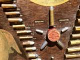 WINCHESTER MODEL 1890 SINGLE-W CARTRIDGE BOARD BULLET BOARD ORIGINAL SINGLE W - 14 of 15