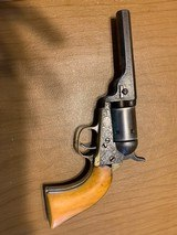 GUSTAVE YOUNG ENGRAVED 1849 COLT POCKET CONVERSION WITH IVORY GRIPS-DIRT CHEAP!!!!