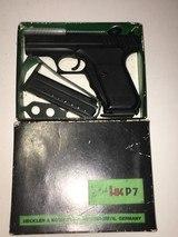 HK P7 (PSP), 5 OEM mags, in original factory box