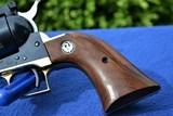 """Rare Brass Frame Ruger Blackhawk 45 Old Model 3 Screw 4 5/8"""" Barrel - 405 Produced, Verified Factory Brass Grip Frame - 6 of 14"""