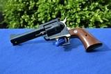 """Rare Brass Frame Ruger Blackhawk 45 Old Model 3 Screw 4 5/8"""" Barrel - 405 Produced, Verified Factory Brass Grip Frame - 3 of 14"""
