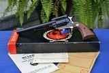 Rare Brass Frame Ruger Super Blackhawk 44 Mag Old Model 3 Screw .44 Magnum - Verified Factory Brass Grip Frame, Original Box, - 6 of 17