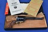 Rare Brass Frame Ruger Super Blackhawk 44 Mag Old Model 3 Screw .44 Magnum - Verified Factory Brass Grip Frame, Original Box, - 17 of 17