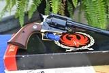 Rare Brass Frame Ruger Super Blackhawk 44 Mag Old Model 3 Screw .44 Magnum - Verified Factory Brass Grip Frame, Original Box, - 2 of 17