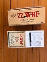 22 caliber WRF ammunition - 1 of 1