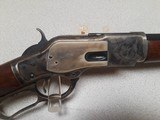 STOEGER UBERTI WINCHESTER 1873 DELUXE - AS NEW WITH BOX - 45 COLT