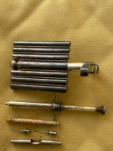 WW I Era U.S. Military Portable Hypodermic Set (May 22, 1900 Patent)