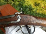 Model 1842 Springfield Musket. Dated 1852, 69 Cal.Unissued condition. - 7 of 15