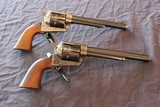"Matching Pair of Cimarron/Uberti SA Frontier Pistols, 7.5"" Barrels - .357 Magnum"
