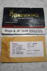 Browning Hi-Power Practical .40 S&W - 10 of 13