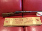 WINCHESTER MODEL 63 22LR NEW IN THE FACTORY BOX MANUFACTURED 1958 LAST YEAR. - 1 of 15