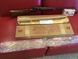 WINCHESTER MODEL 63 22LR NEW IN THE FACTORY BOX MANUFACTURED 1958 LAST YEAR. - 2 of 15