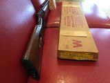 WINCHESTER MODEL 63 22LR NEW IN THE FACTORY BOX MANUFACTURED 1958 LAST YEAR. - 4 of 15