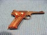 colt woodsman semi automatic