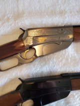 """Browning 1895 Lever Action, High Grade and Grade 1, Caliber 30/40 , Matching Serial Numbers, 24"""" Barrel - 4 of 10"""