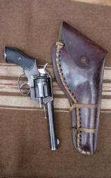Antique Frontier Army Revolver with original Antique holster - 9 of 12